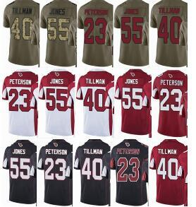 f9dadc940 CARDINALS  23 Adrian Peterson  55 Chandler Jones  40 Pat Tillman Men ...