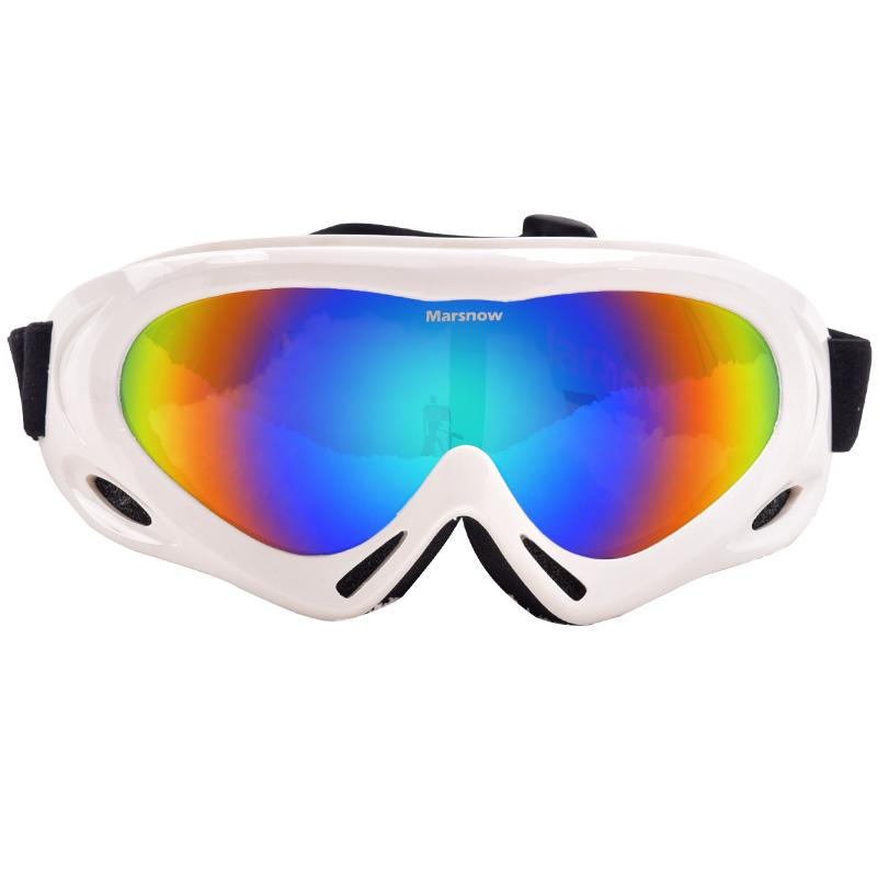 707f1da8c1 2019 MARSNOW Winter Ski Goggles Windproof Snowboard Eyewear UV 400  Protection Women Men Snowmobile Skiing Glasses Single Coating Lens From  Yarqi