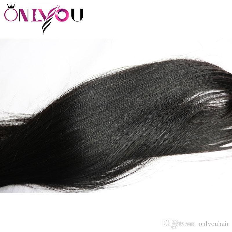 9a capelli umani vergini brasiliani 4 fasci 30 pollici non trasformati 32 34 36 pollici tessuto peruviano dei capelli umani fasci bagnato estensioni ondulate