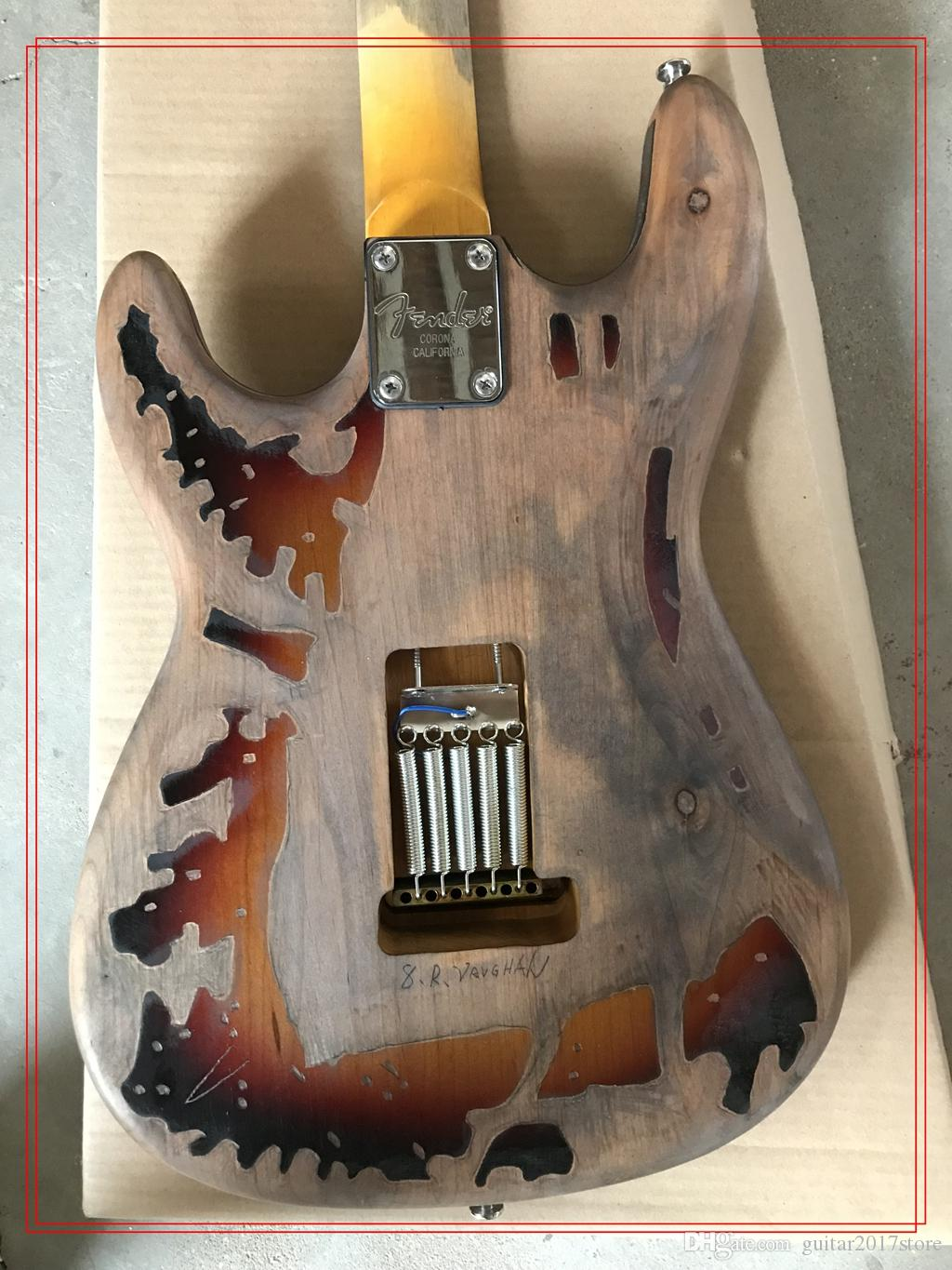in stock vintage electric guitar china custom shop made Masterbuilt srv stevie ray vaughan tribute electric guitar