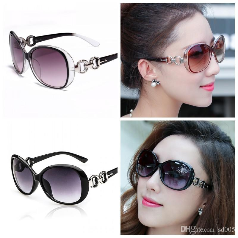 78ba0967786d Women Ladies Big Frame Sunglasses Modern Fashion Popular Sun Glasses For  Outdoor Travel Driving Use Ultraviolet Proof Eyeglasses 2 9le Z Black  Sunglasses ...