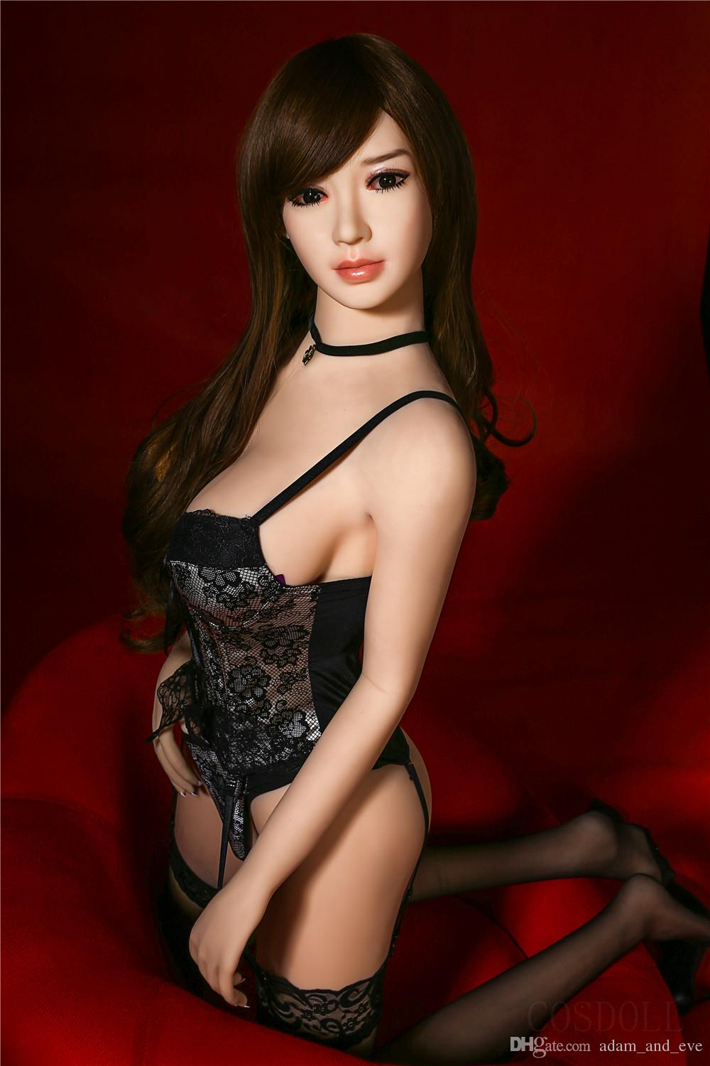 Full Silicone Sex Doll Sexy Asian Beauties Real Love Doll Realistic Compact Vagina Male Masturbation Pocket Pussy Sex Toys