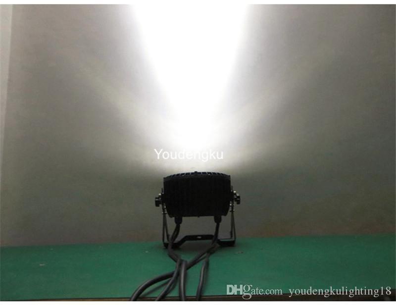 12 peças Ao Ar Livre Ip65 china par luz led 12x15 w rgbwa 5em1 levou plana par luz para o evento do partido