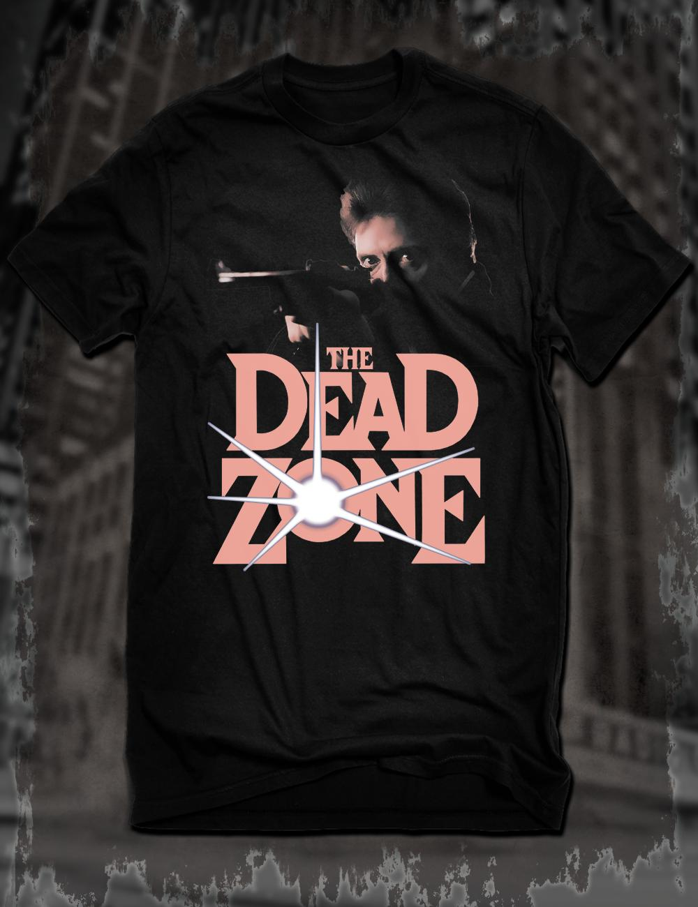 New Black The Dead Zone Film T-Shirt Christopher Walken Stephen King  Cronenberg Funny free shipping Unisex tee