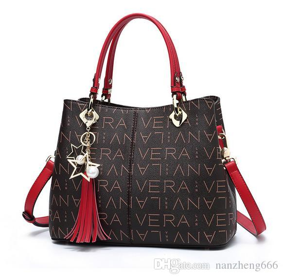 Ladies Printed New Tote 2018 High Fashion Handbags End Bag Letter qvpAZS