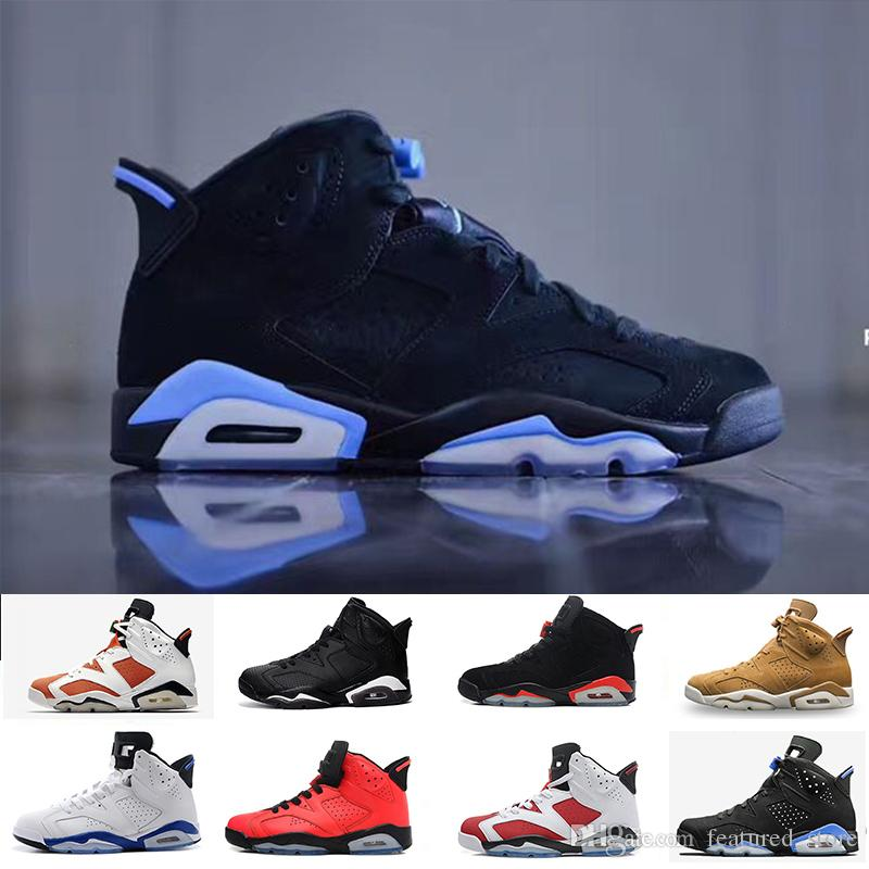 367482317f0e01 6 6s Mens Basketball Shoes Classic UNC Black Blue White Infrared Low Chrome  Women Men Sport Blue Red Oreo Alternate Oreo Black Cat East Bay Shoes Shoes  ...