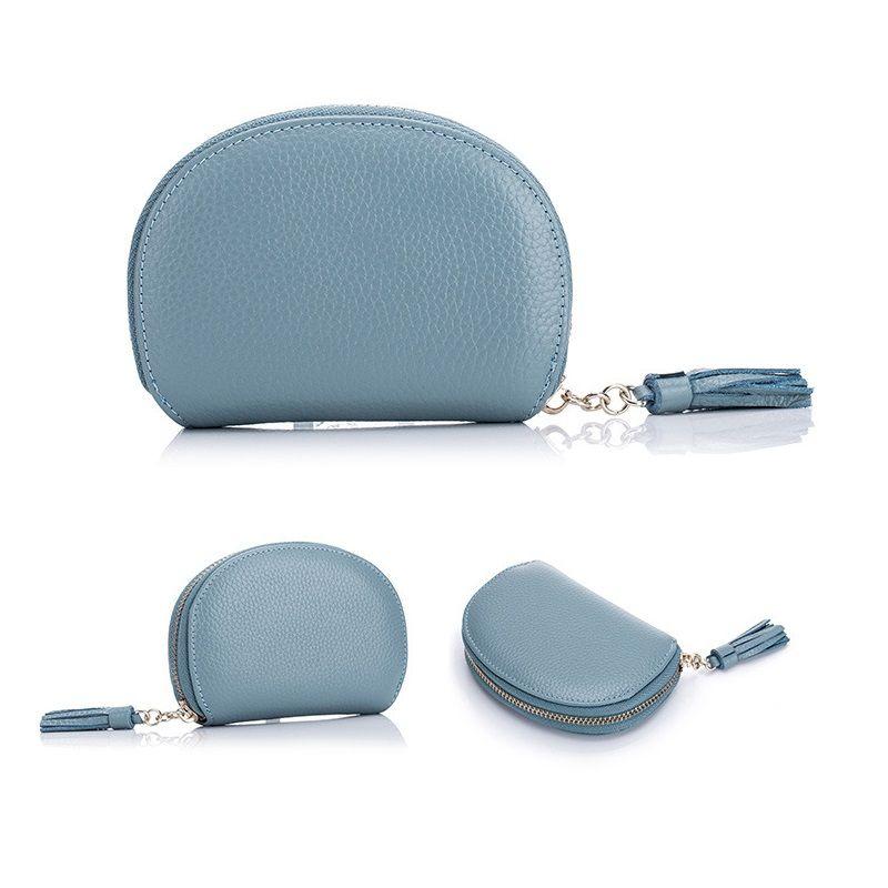 Top quality Paris style luxury designer classic famous men women famous genuine leather gy credit card holder mini wallet