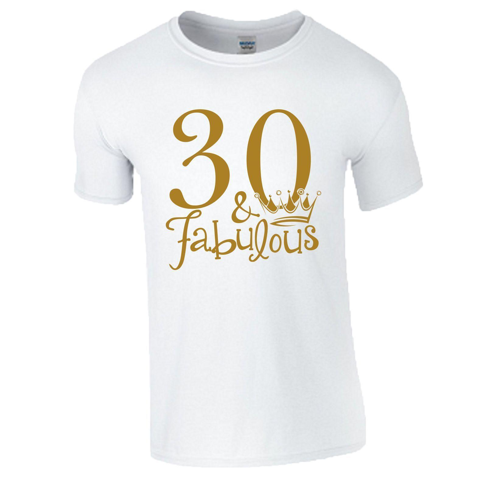 8f690b110b9b41 30th Birthday Gift T Shirt Made In 1988 King Queen 30 Fabulous Crown Mens  Ladies Online Buy T Shirt Best T Shirt Shop Online From Teestotal