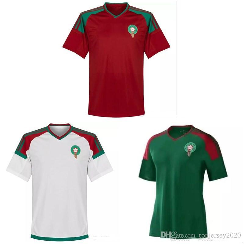 94b2c993a Compre Thai 2018 Copa Do Mundo Camisas De Futebol De Marrocos El ...