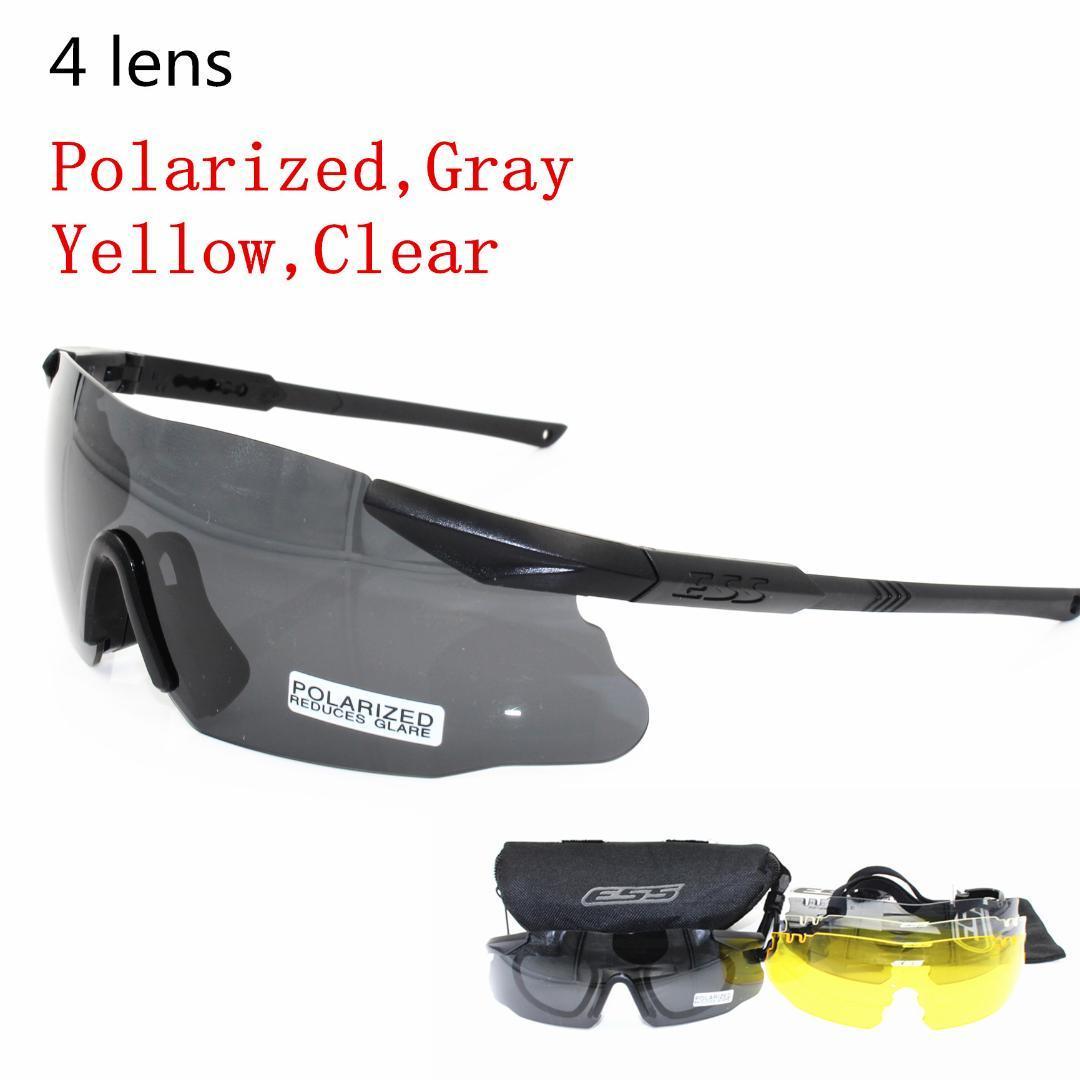Compre Homens Marca Óculos De Sol Polarizados 3 5 Lens Óculos De Segurança  Tático Exército Goggles Caça Ao Ar Livre Combate Wargame De Qiuyeluo, ... 91515d25a0
