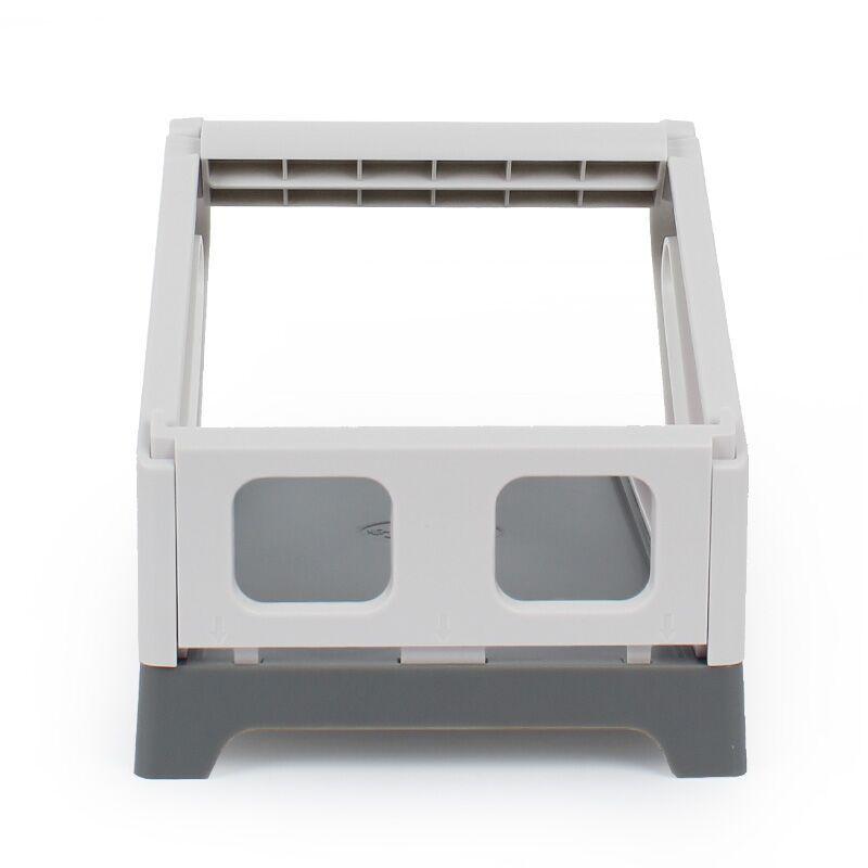 Jiabo için 2-in-1 elektronik tek yazıcı termal kurye tek büyük etiket tutucu evrensel harici tek-kutu