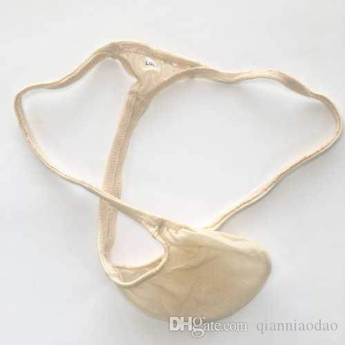 Mens new style Fashion Thong G4038 Bulge Pouch T-back Shiny Sheer Sparkle Stretchy smooth
