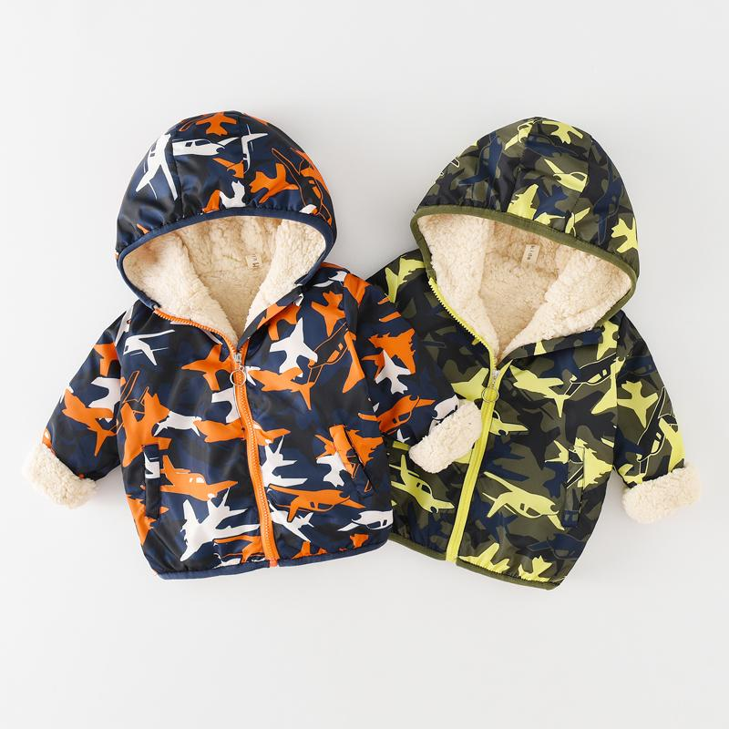 7d8b4086d Children Jacket Autumn Winter Baby Girl Coat Cute Cartoon Print Jacket Kids  Spring Boy Warm Outerwear 0 6 Years JN8902 Girls Puffer Coats Discount Coats  For ...