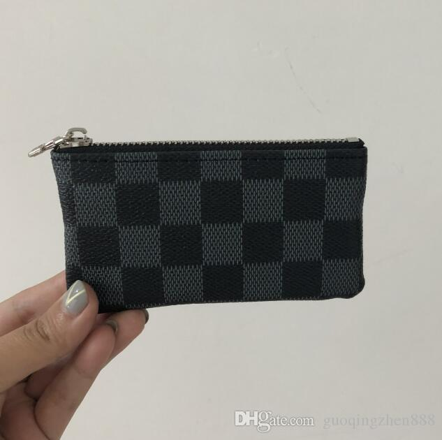 d4402768a5060 2018 KEY POUCH Damier Canvas Holds High Quality Famous Classical ...