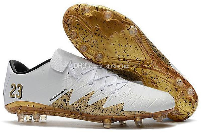 2018 new soccer cleats Hypervenom Phantom 3 III FG low top neymar boots cheap soccer shoes for men authentic football boots mens new