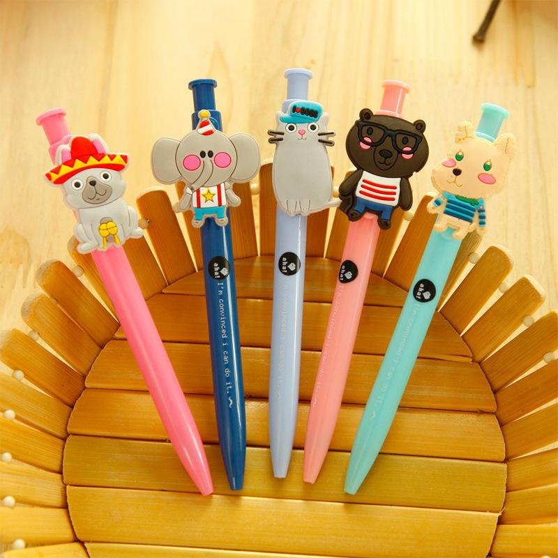 Manufacturers selling creative stationery press cute animal paradise pen pen stationery wholesale Exquisite office supplies