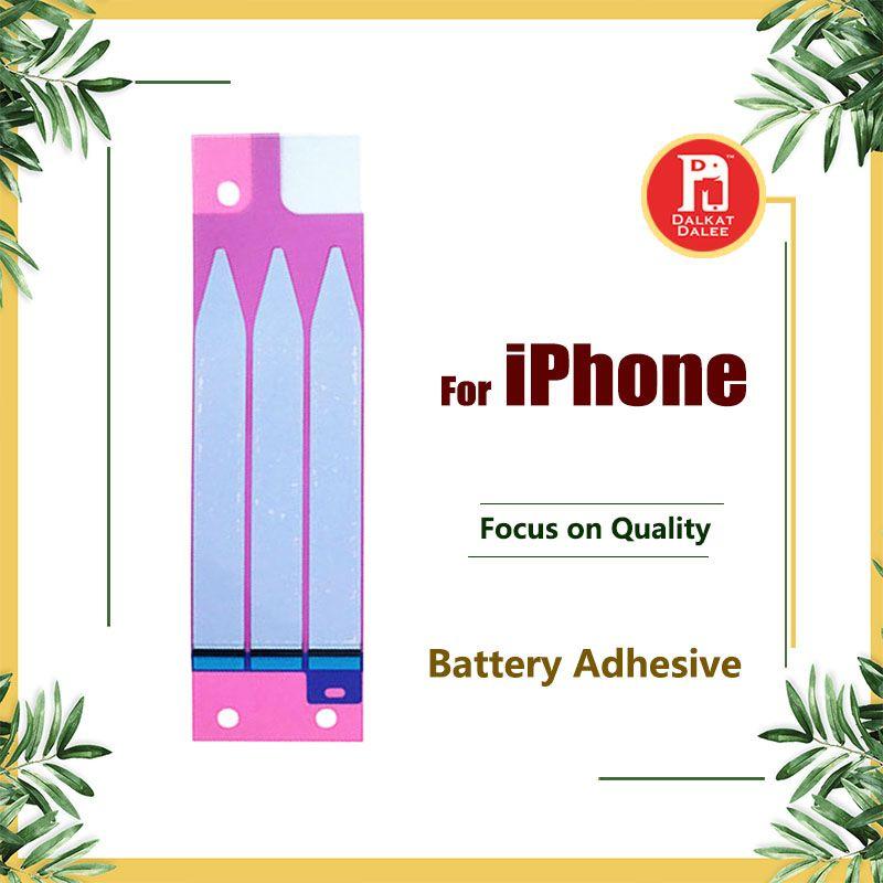 iPhone 4 4s için Pil Yapışkan Tutkal Bant Şerit Sticker Yedek Parça 5 5s 6 6S 5c 7 8 Plus X XS Max XR 11 Pro Max
