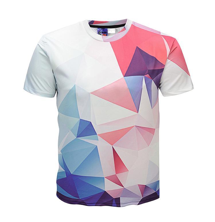 885a4ccc New Men Summer Clothing 3d T Shirt 18 Styles Pattern Digital Printing  Fashion Summer Short Sleeves Men T Shirt Band T Shirts T Shirt Designs From  Dujotree, ...