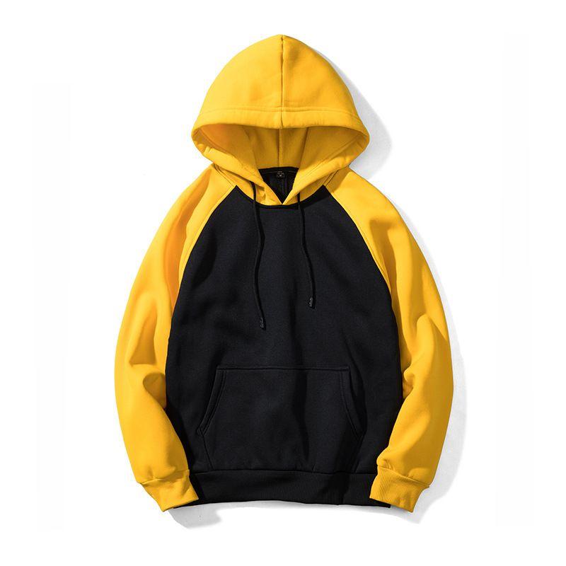 957b5d082912b Acheter Mens Designer Hoodies Sweat Casual Patchwork Manteau Raglan Manche  Poche Automne Hiver Mode Sport 8 Couleurs Plus La Taille Vêtements De  $30.87 Du ...