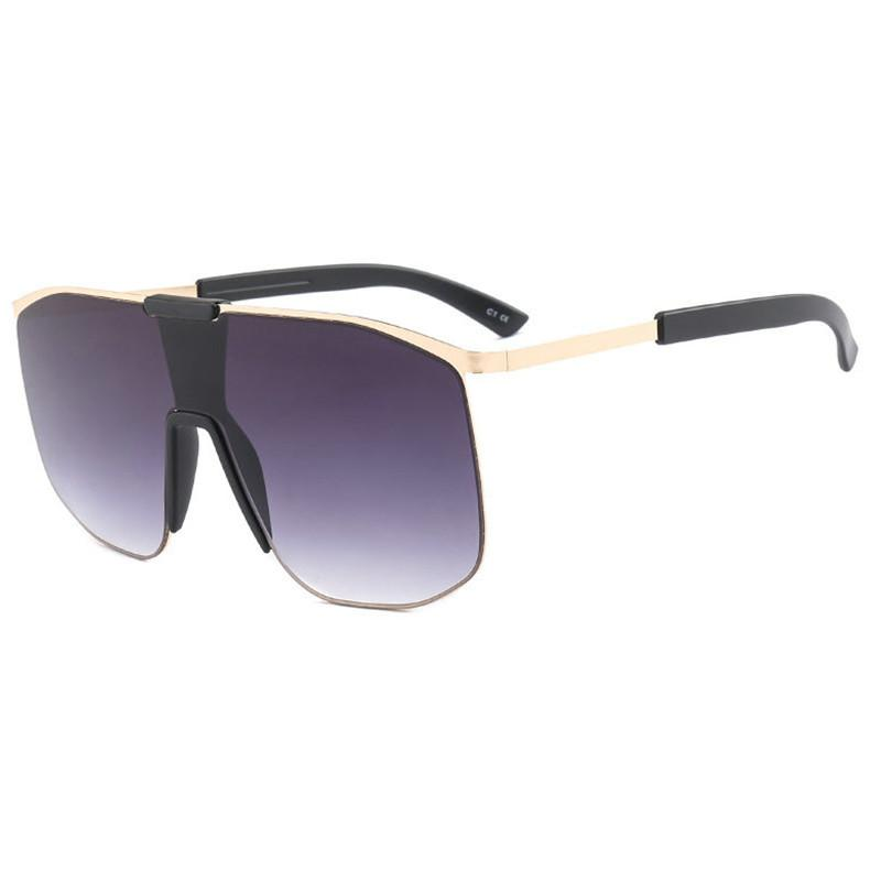 960a491e0497 Square Oversized Sunglasses 2018 Fashion Shades Female Vintage Black Hip  Hop Glasses Square Sun Glasses For Women Luxury FML Retro Sunglasses  Baseball ...