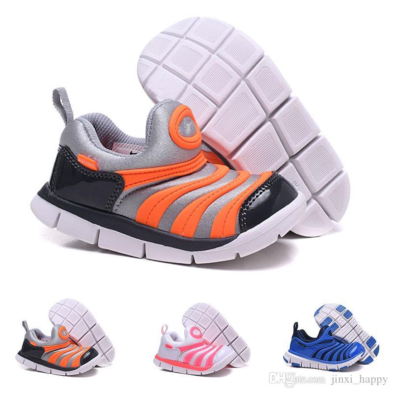 eed67106b2614b Großhandel Nike Air Dynamo Free Td Heißer Verkauf Kinderschuhe Größe Eur 26  35 Dynamo Free Big Kids Babyschuhe