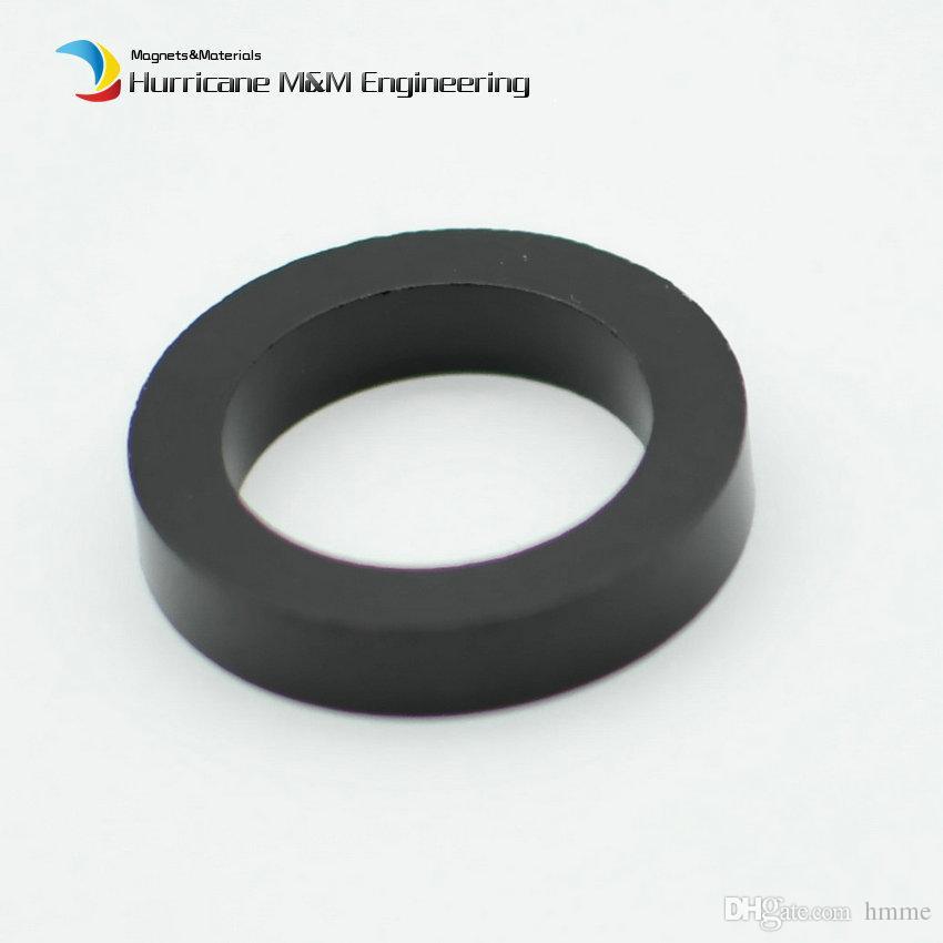 Bonded NdFeB BN8 Diametrically 8 Poles Magnet Ring OD 26x18x5 mm Neodymium Permanent Magnets Black Epoxy Coating