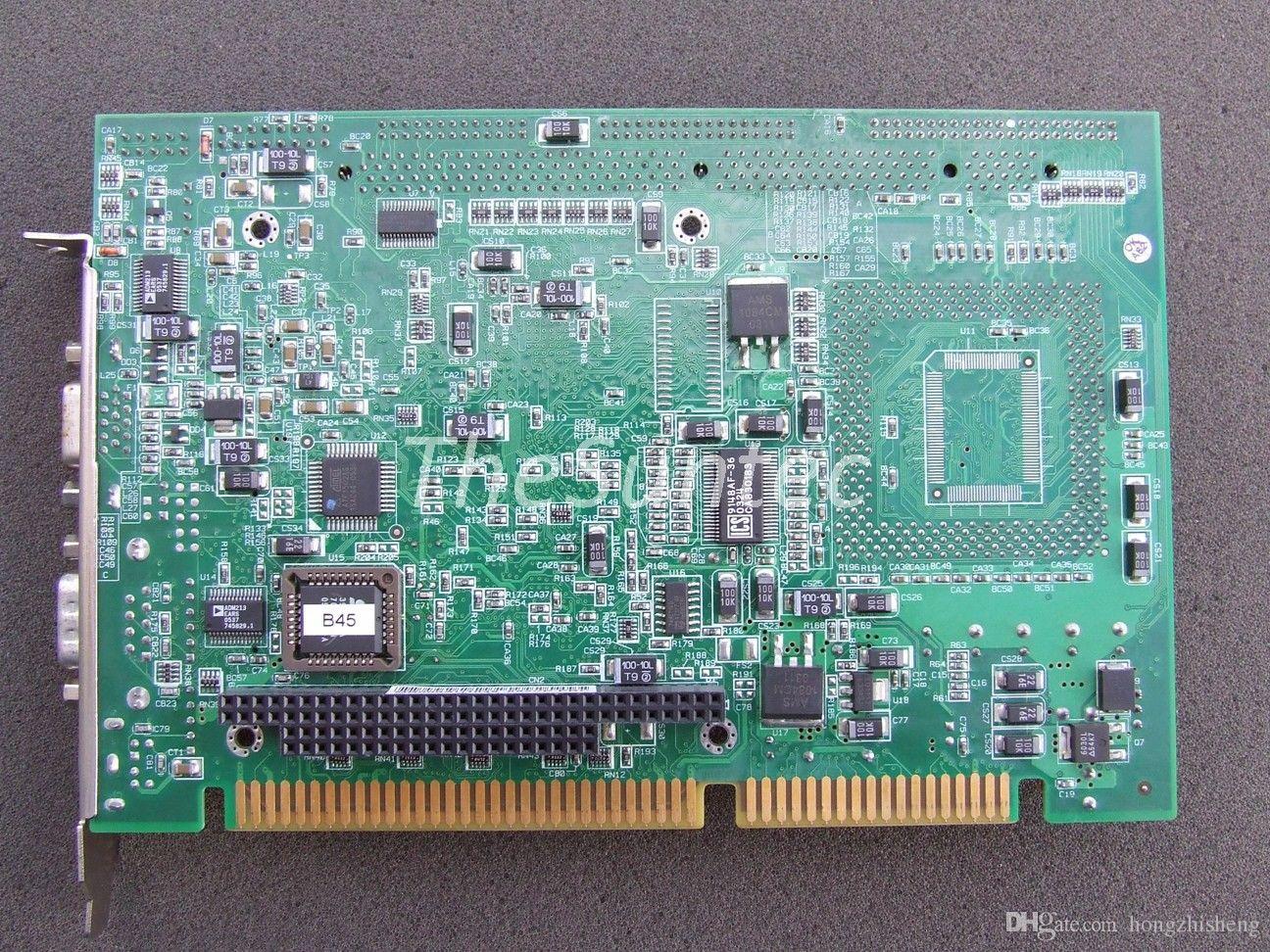 LMB-682VP V0.93 yarım uzunluk endüstriyel kurulu ile CPU LMB-682VP 100% mükemmel kalite test