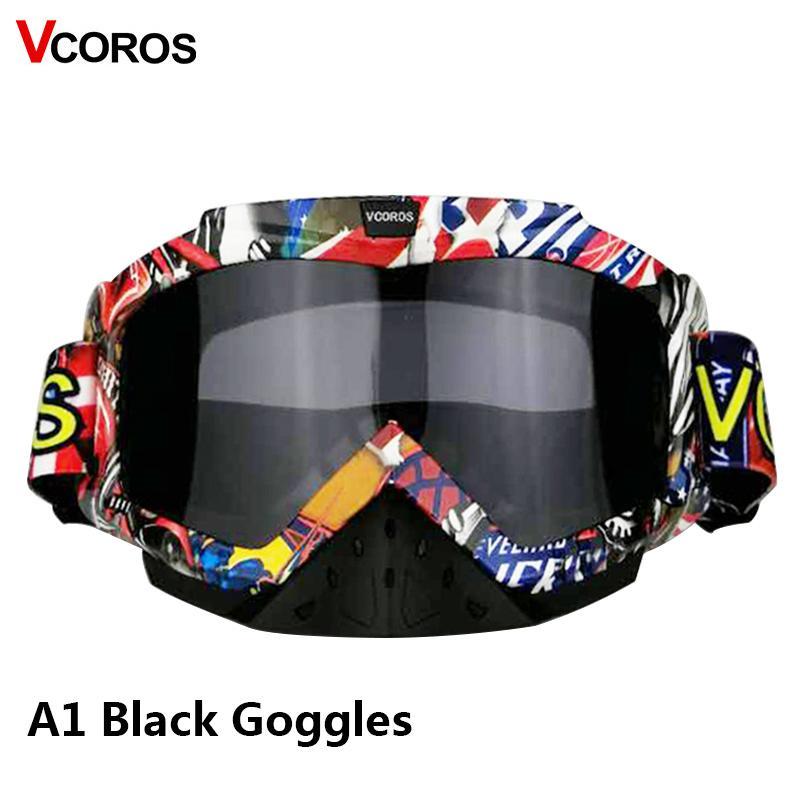 43a695d880b15 Compre Novos Óculos De Capacete De Motocross ATV MX Fora De Capacetes De  Estrada Óculos De Proteção UV Protegido Esporte De Esqui Óculos Bicicleta  Da ...