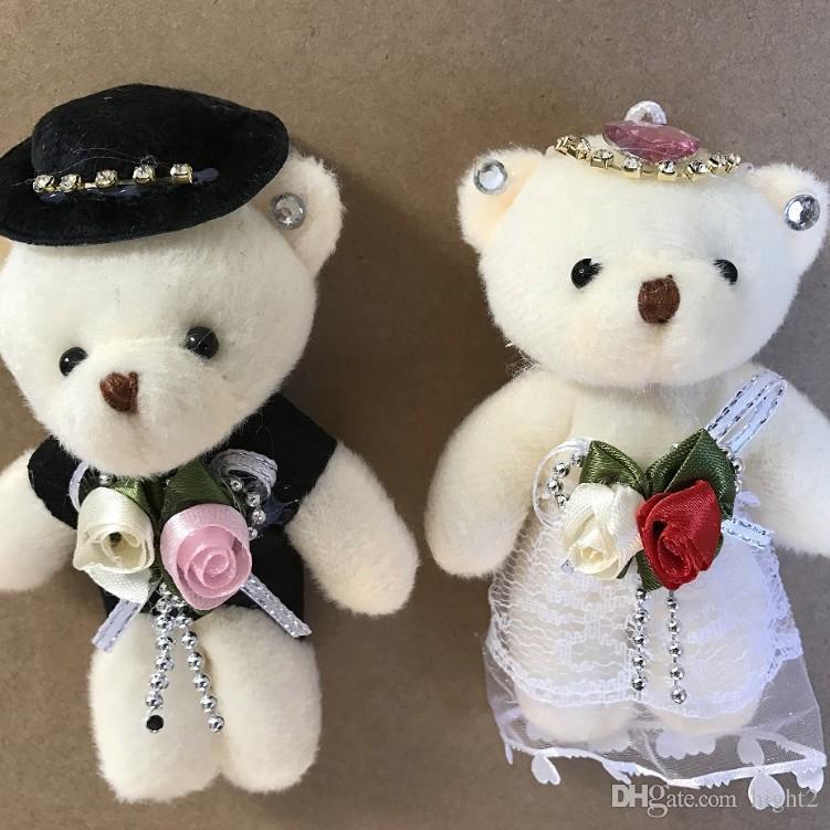 b1480fcd70f Lover Toy Teddy Bear Plush Toy Teddy Doll Bride And Brideroom Toy ...
