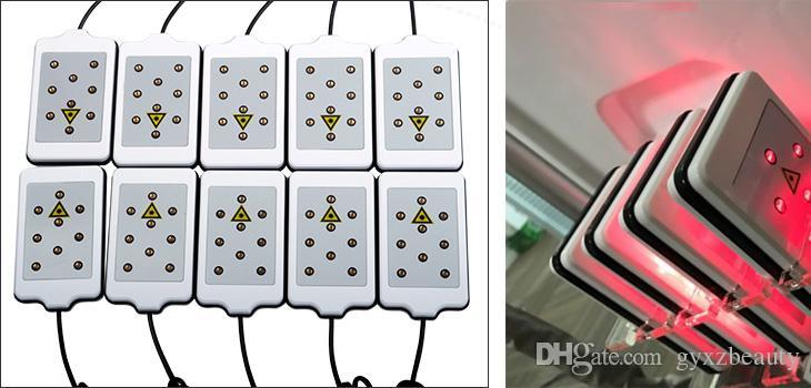 2018 SıCAK SALL Yağ dondurma makinesi kilo kaybı zayıflama makinesi 4 tedavi kolları ve 10 pedleri ile lazer