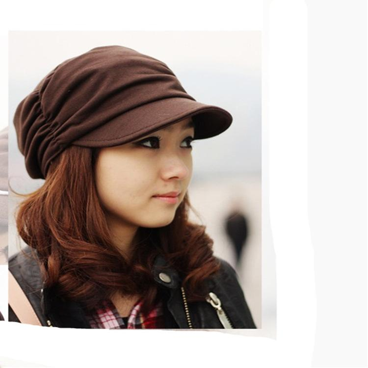 Fashion Newsboy Caps for Women Spring Autumn Winter Warm Knitted ... 20f65a3ad03b