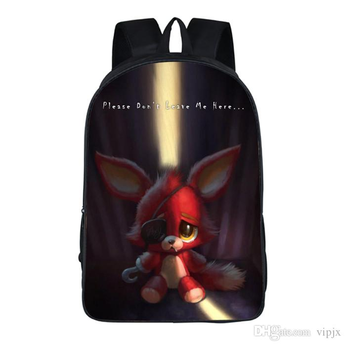 Five Nights At Freddy S Freddy Backpack Chica Foxy Bonnie FNAF Shoulder Bag  New  62  70 Picnic Backpack Kids Backpacks On Sale From Vipjx,  25.38   DHgate. 661c826c4c