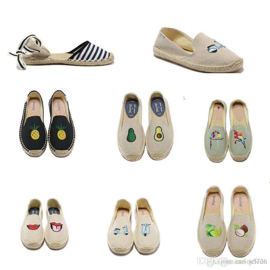 74c01955017 Brand Soludos Espadrille Fisherman Designer Shoes Casual Sneakers ...
