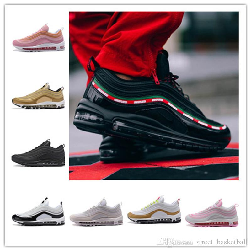 hot 2018 97 OG X Undftd Black Speed Red DS Vapormax Men's Running Shoes For Women's Sneakers Trainers Men Sports Shoes Morning exercise sale 2014 GI61D0Qt