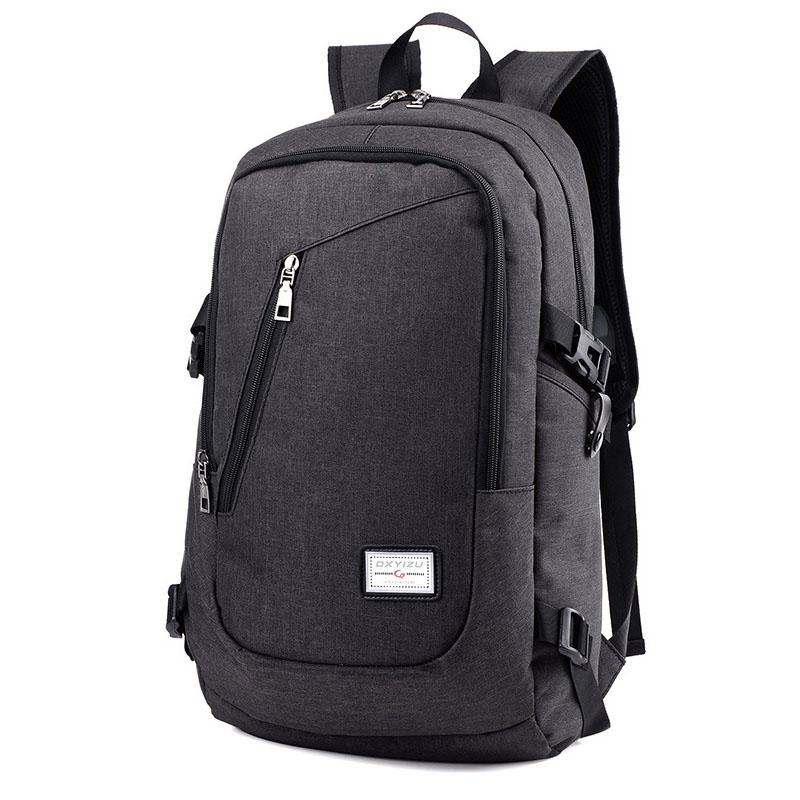 Fashion Anti Theft Business Laptop Backpack with USB Charging Port ... 1bedab3141d47