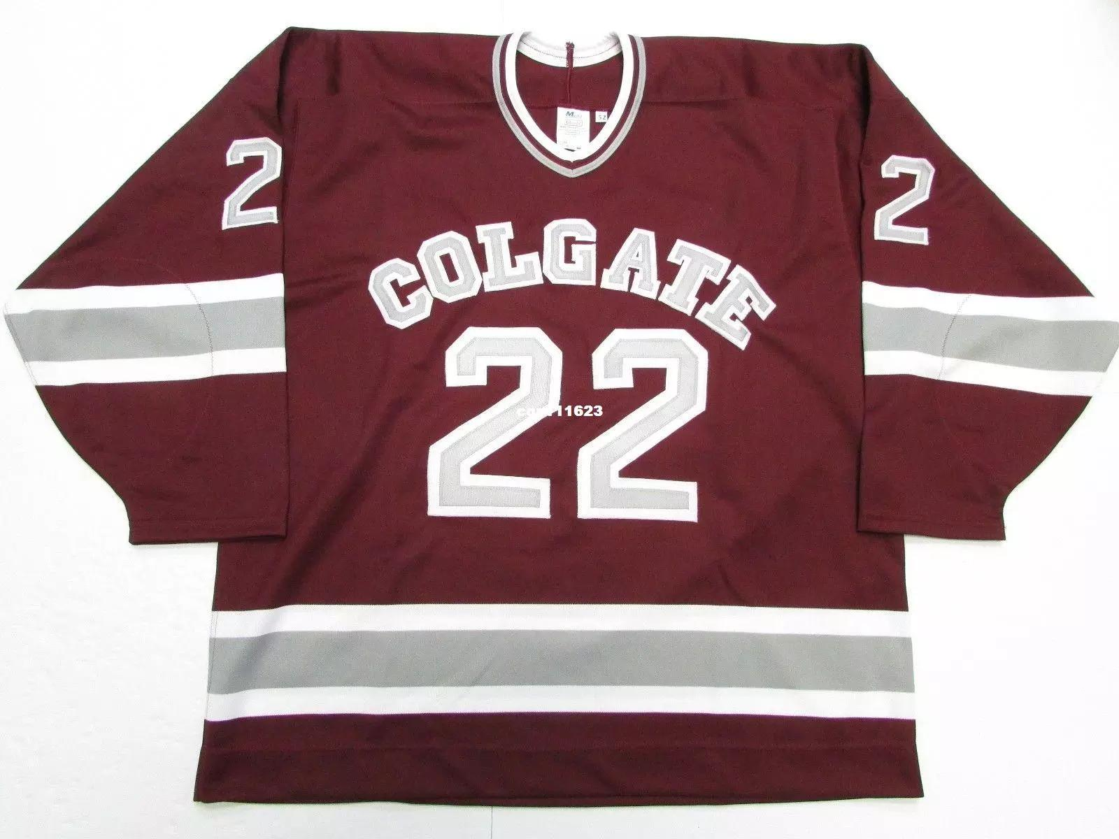 de421c98 Cheap Custom COLGATE RAIDERS #22 CCM HOCKEY JERSEY WINE RED Mens Vintage  Jerseys Online with $61.54/Piece on Hezongming77's Store | DHgate.com