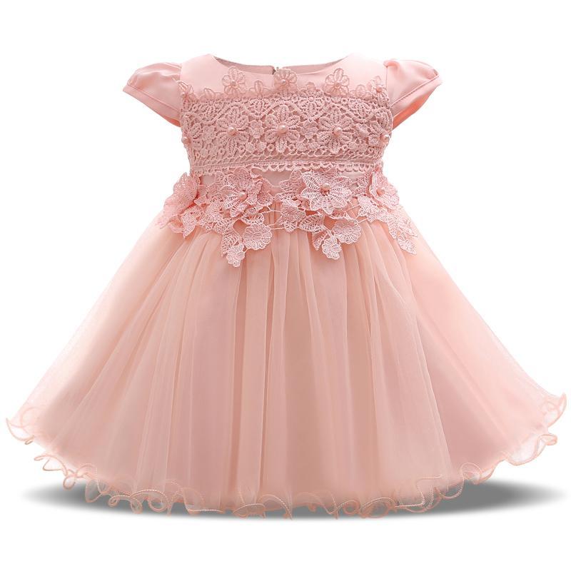 Compre Primer Cumpleaños De 1 Año Vestido De Fiesta Del Bebé ...