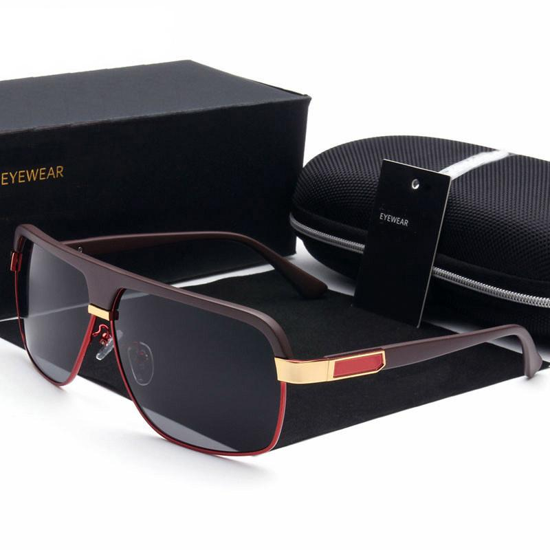 e08d048d35 Compre Gafas De Sol Para Hombres Y Mujeres Aviador Marca Gafas De Sol De  Diseño De Lujo Polarizadas Lente Vintage Gafas De Sol De Moda De Alta  Calidad Con ...
