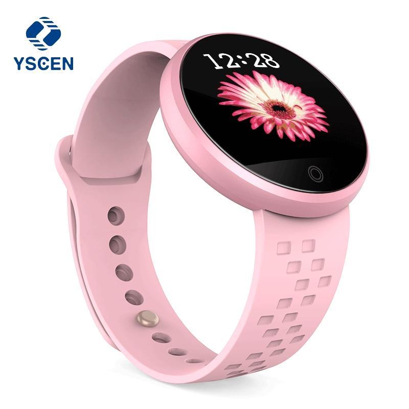 f94658d79 Smartband Comprar 2018 Nuevo Reloj Inteligente Mujer Reloj Superior Relojes  Digitales Ciclo Fisiológico Rastreador De Sueño Señoras Reloj De Pulsera  Deporte ...
