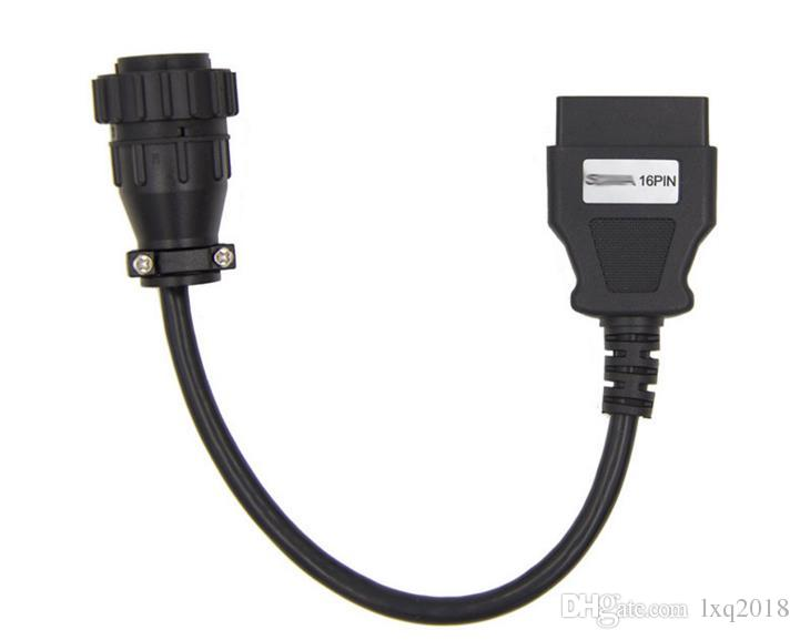 For Scania Heavy Duty Truck 16Pin To OBD-ii OBD2 16Pin Female Adapter Cable Line
