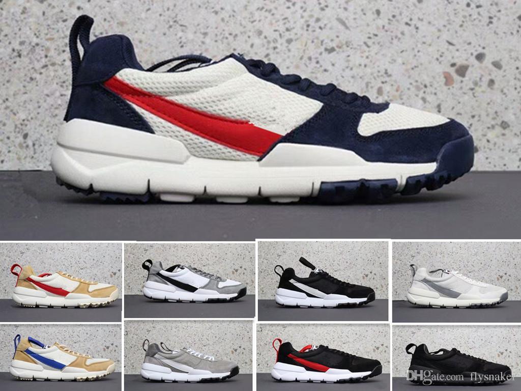 2aa22b238482 Tom Sachs X Craft Mars Yard 2.0 TS NASA мужчины кроссовки Aa2261-100  натуральный Спорт кроссовки ...