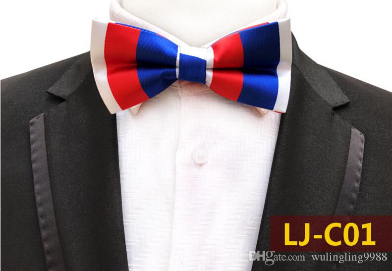 Men Bow Ties Luxury Wedding Formal Cravat British Style Gentleman England Man Neck Tie Suit Prom Accessories Retro Necktie