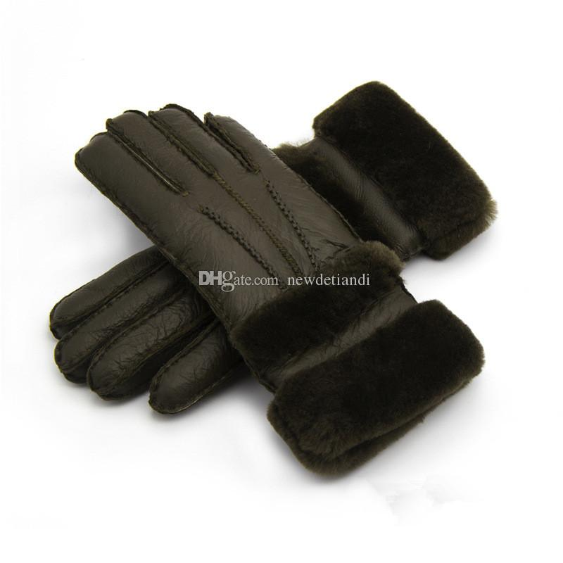Women High Quality Leather Gloves Women Wool Gloves Quality Assurance