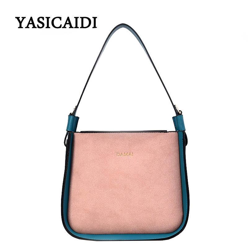 d7b7d89a0a6e 2019 Fashion Famous Brand Designer Woman Handbags Ladies PU Leather Shoulder  Crossbody Bags High CapacityTote Fashion Bucket Bag Leather Backpacks  Shoulder ...