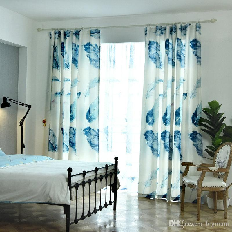 Luxury Chinese Classic Style Ink Painting Blackout Curtain for Living Room Bedroom Customized Aesthetic Art for Home Window Decoration