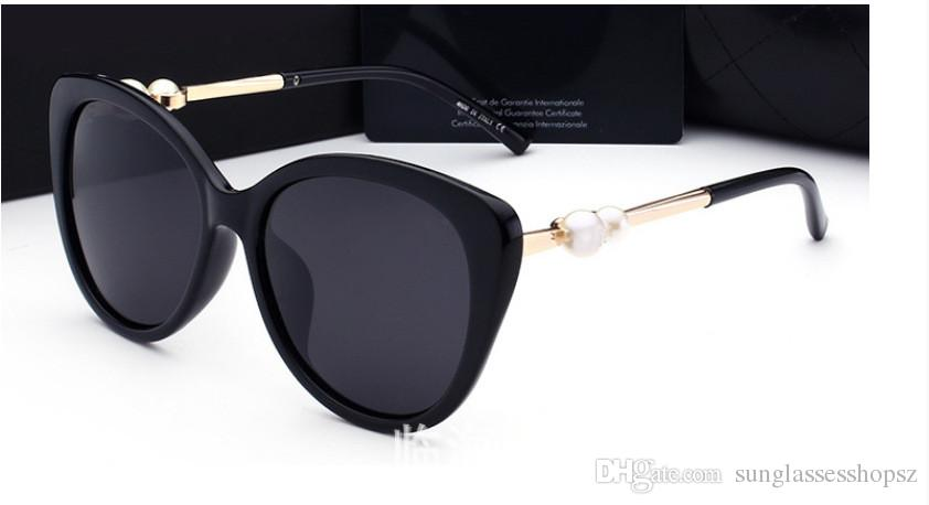 2018 عالية الجودة ماركة نظارات الشمس رجل الأزياء دليل نظارات مصمم النظارات لرجل إمرأة نظارات شمس نظارات جديدة 6 لون 2039