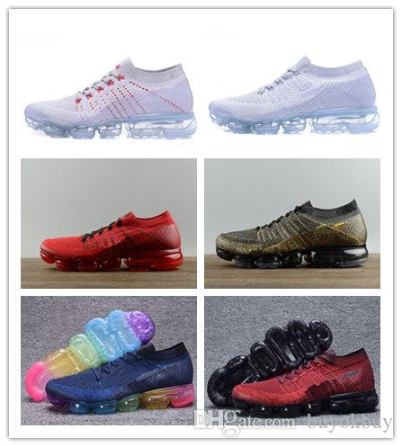 13a6a70a71 2018 Running Shoes For Men Sneakers New Vapormax Mens Women Fashion  Athletic Sport Shoe Corss Hiking Jogging Walking Outdoor Running Shoe  Silver Shoes ...