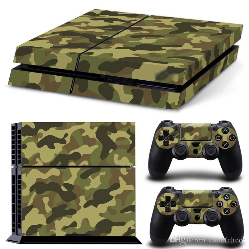 Camouflage color ps4 decal skin stickers for playstation 4 console camouflage color ps4 decal skin stickers for playstation 4 console controller stickers controller lightbar decal ps4 video game skin stickers playstation aloadofball Choice Image