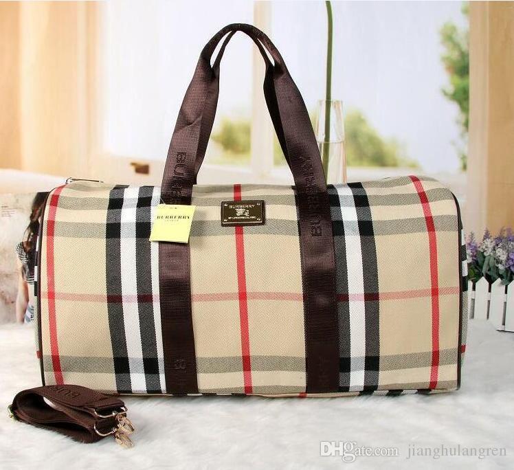 Hot 55 centimetri uomini di marca di lusso borsa da viaggio in pelle PU borsone in pelle di marca bagaglio borse di design bagaglio grande capacità