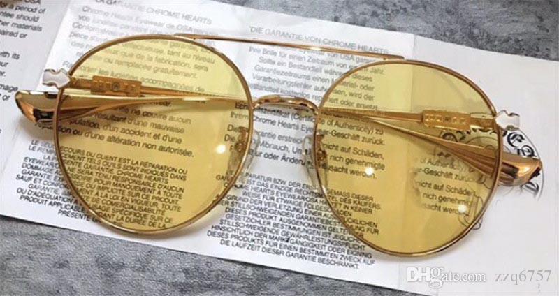 5f3ddcc7441f New Fashion Designer Sunglasses CRH BOJMIR Round Frame Color Lens ...